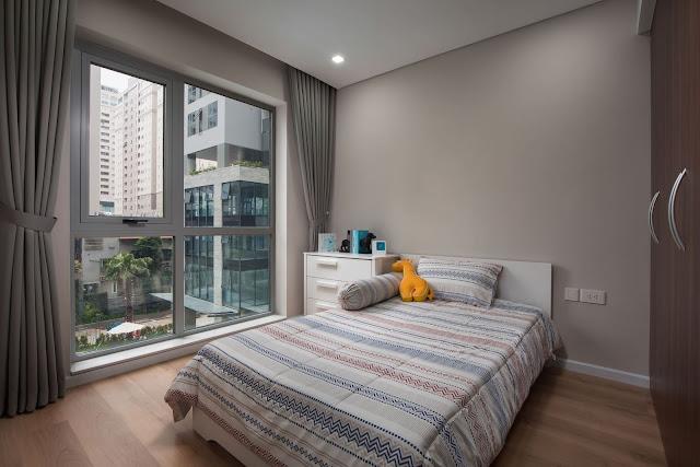 Phòng ngủ chung cư DLC Complex