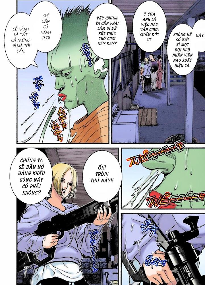Gantz Chap 06: Chạm trán người ngoài hành tinh củ hành trang 8