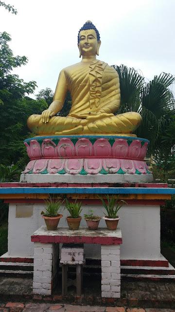 Buddha in Lumbini