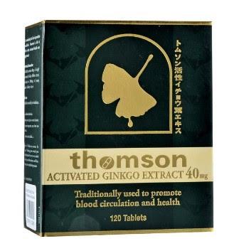 Harga Thomson Activated Ginkgo Suplemen Antioksidan Terbaru 2017