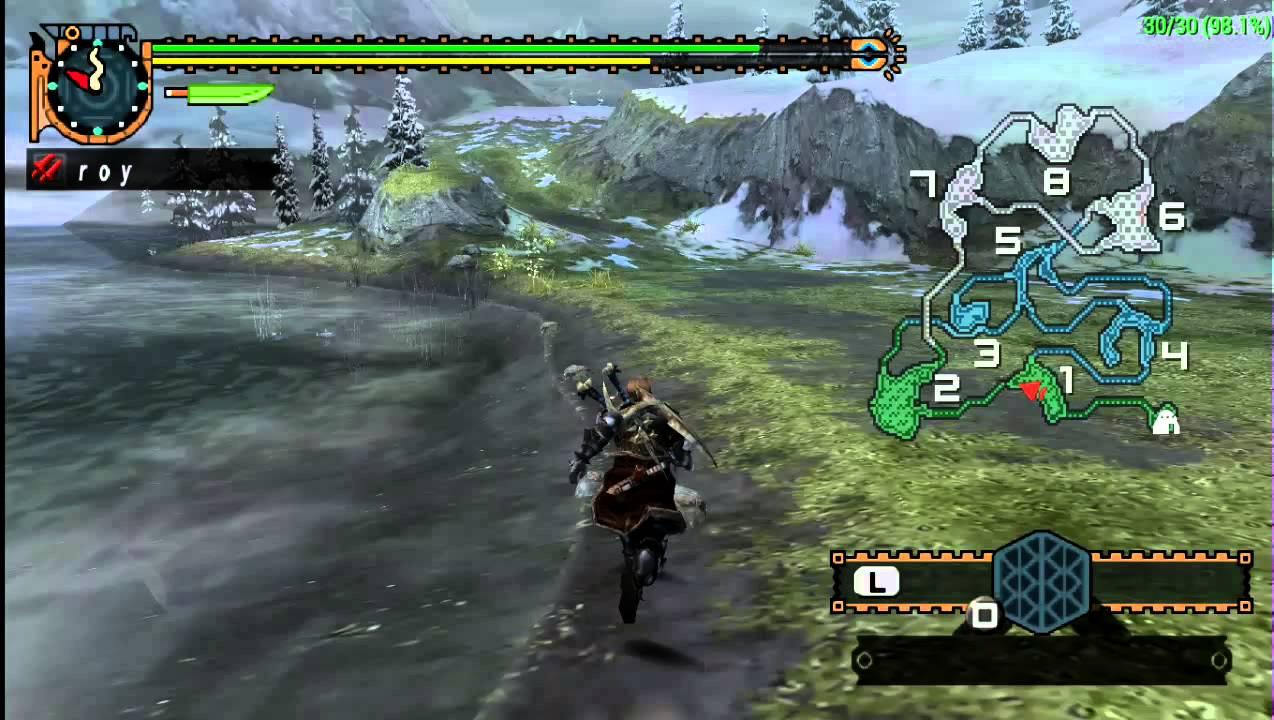Download game Monster Hunter Freedom Unite psp for pc - Game Tegal
