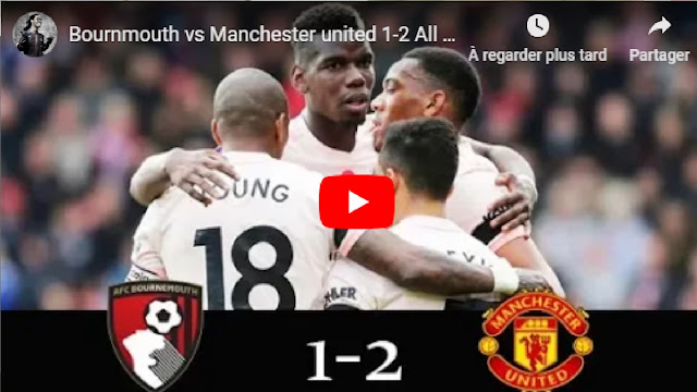 Bournmouth vs Manchester united 1-2 All Goals & Highlights 3/11/2018 HD