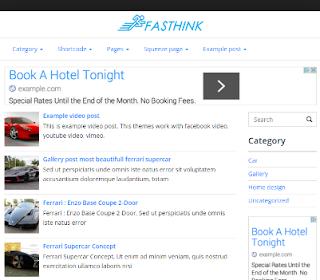 Free Download Fasthink High CTR Minimalis Fast Loading Wordpress