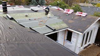 Local roofing company doing quaity work