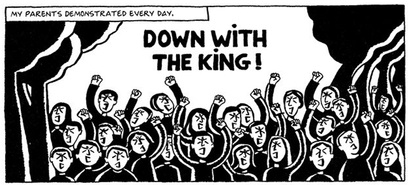 Persepolis The Story Of A Chilhood The Water Cell