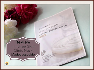 Detailed review of Innisfree Skin Clinic Madecassoside Sheet Mask on NBAM blog