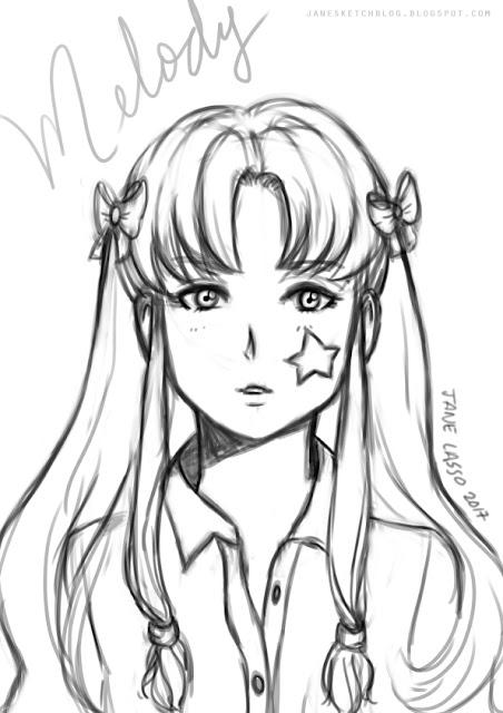 Sketch de Melody