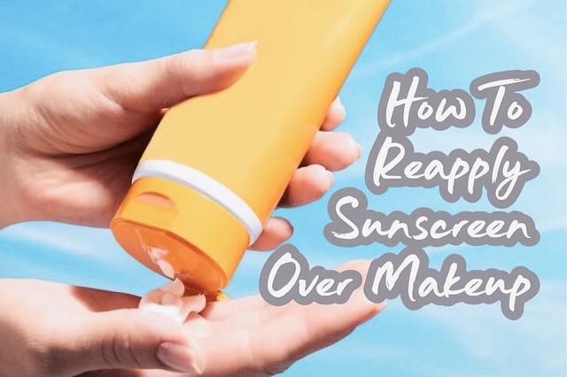 cara memakai ulang sunscreen tanpa merusak makeup