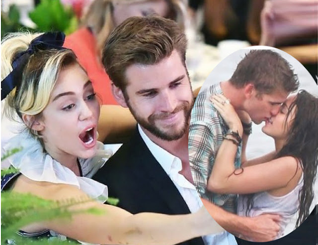 Miley Cyrus sharing her first adorable kiss with Liam Hemsworth