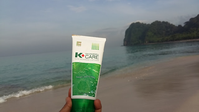 K-Chlorophyll Care Sunscreen Lotion