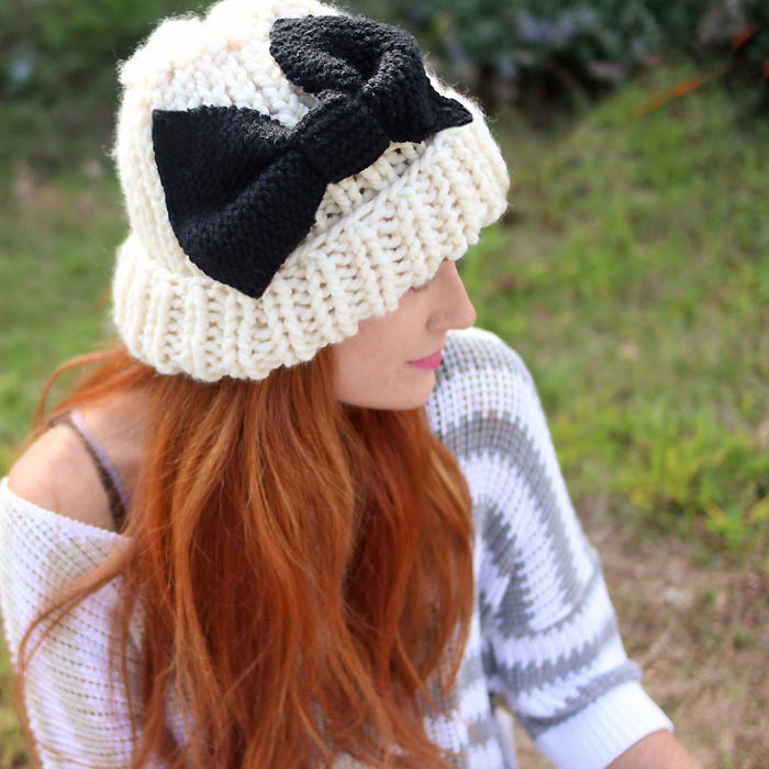 Eugenia Kim Bow Hat Free Knitting Pattern