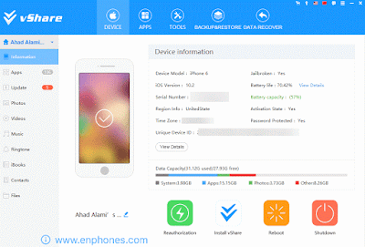 How to install vshare on iphone ipad iOS 10 without Jailbreak