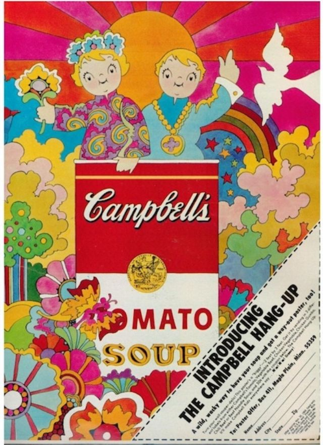 Culture 1960s Psychedelic