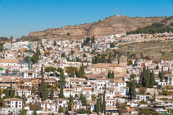 Barrio del Albaicin. Los imprescindibles de Granada