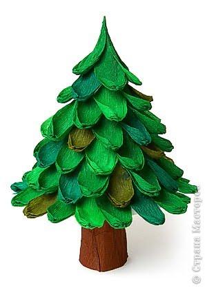 Educando con amor arbolito navide o - Arbol de navidad con papel ...