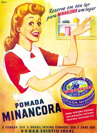 Pomada Minancora - Anos 1940. Cerveja Supimpa - 1928. Chapéus Ramenzoni -  1950. Para acessar o site Propagandas Históricas ... 92af0748bdf
