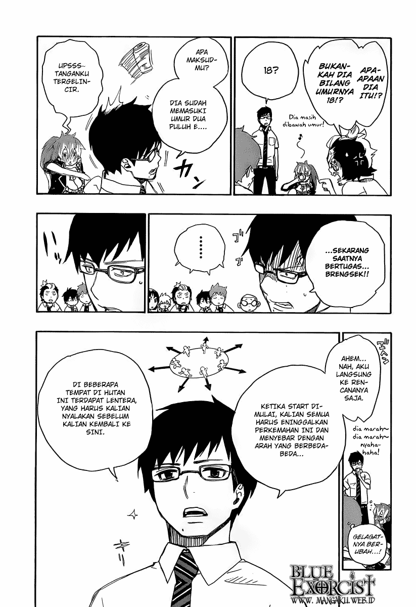Ao no Exorcist Chapter 11-29