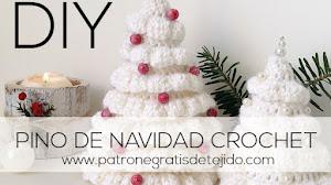 Pino de Navidad tejido muy fácil / DIY