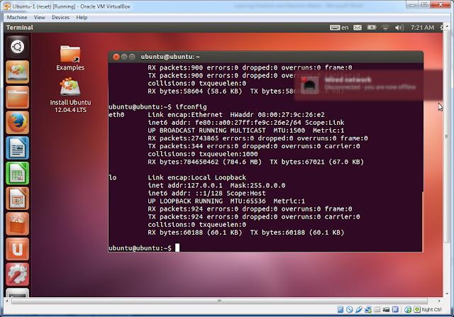 PC (Ubuntu) Tidak Kebagian IP (Reconnecting terus)