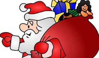 Babbo Natale cartone animato