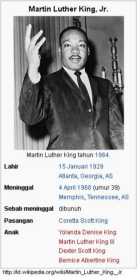 Martin Luther King, Jr; Pejuang Hak Sipil