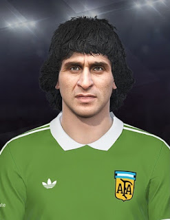 PES 2019 Faces Ubaldo Fillol by DNA+I Facemaker
