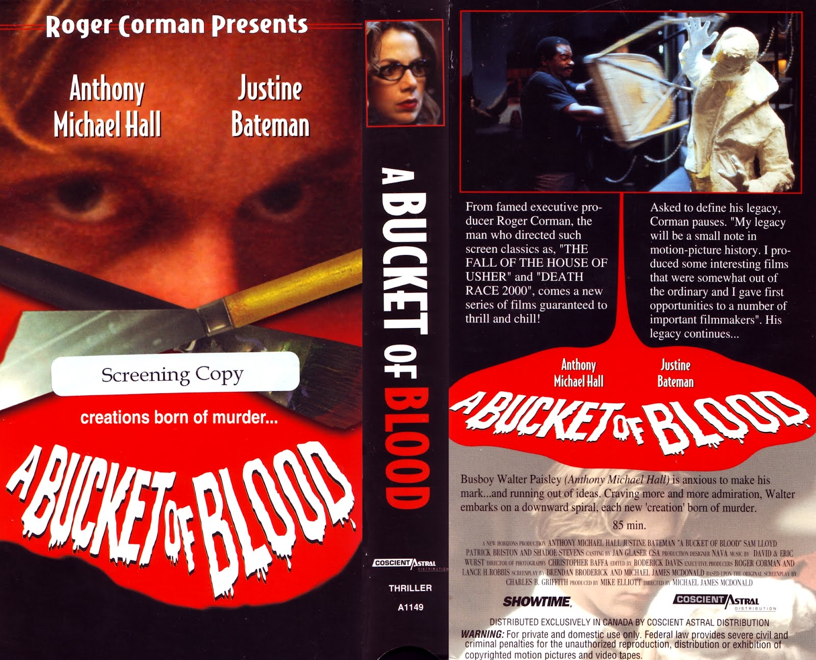 A Bucket Of Blood HD Mastered 1959 Details