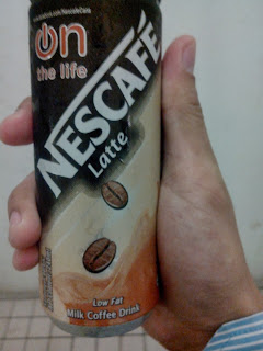 Nescafe Latte Can | APU | APPIIT Life Marc Soon