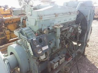Mitsubishi, S6B MPTA, 275 KVA, Generator, 285 Kw Marine diesel engine