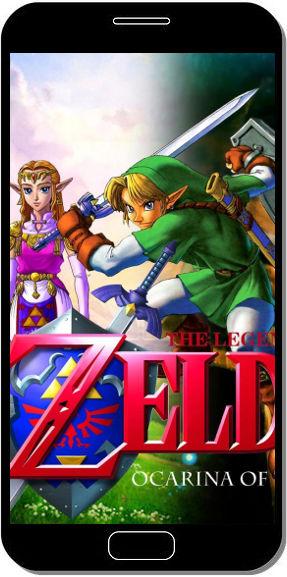 Zelda Ocarina of Time - Fond d'Écran en FHD pour Mobile