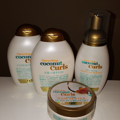 OXG Beauty Quenching Coconut Curls