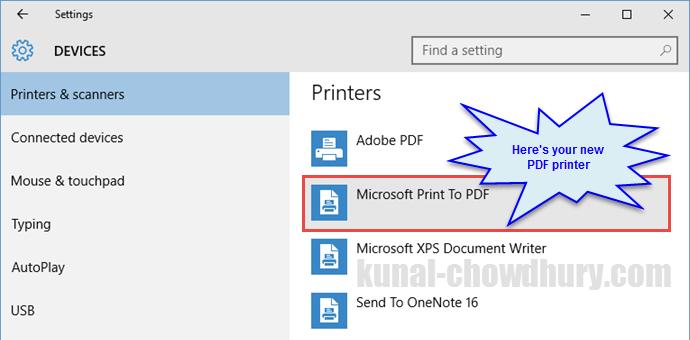 Adobe Pdf Writer Printer