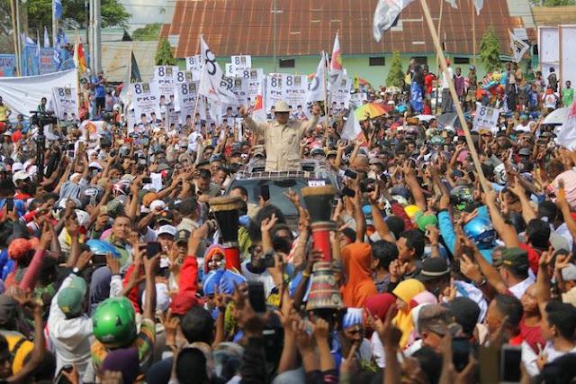 Pesan Damai Prabowo Subianto untuk Rakyat Indonesia dari Papua