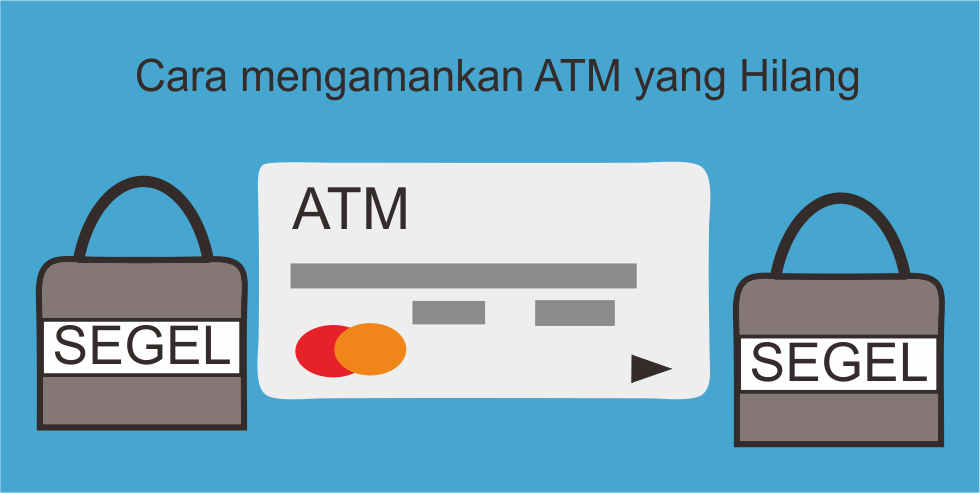 Cara Mengamankan ATM yang Hilang