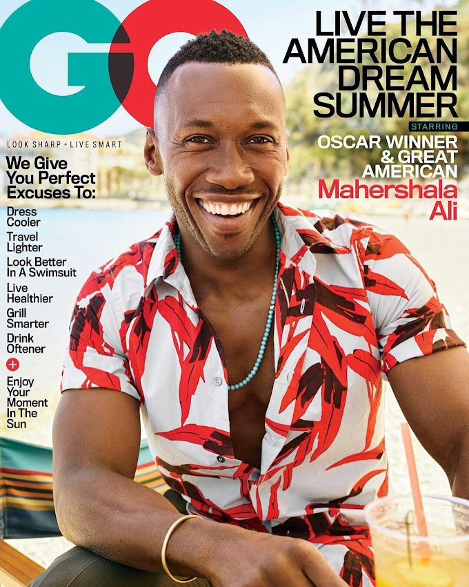 Oscar winner Mahershala Ali Covers GQ Magazine's July 2017 Issue