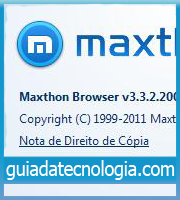 Capa Maxthon Browser