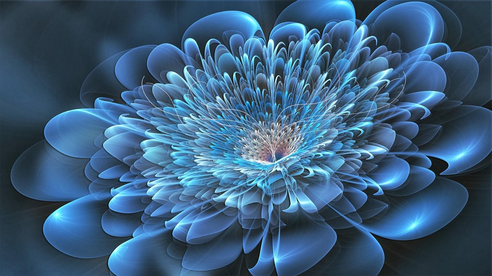 HD Wallpapers Desktop: Blue Flower HD Wallpapers