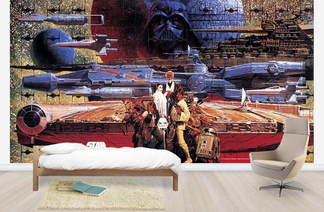 Star Wars tapet barnrum