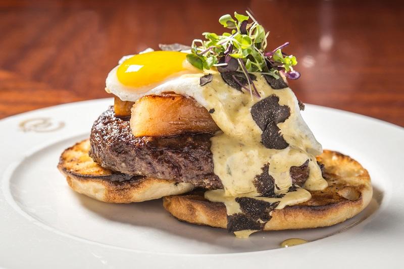 Delmonico's, Delmonico's Kitchen, Eggs Benedict Burger, National Eggs Benedict Day, Eating Fabulously, Eating Fabulously | Food & Lifestyle