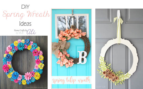 Spring DIY Wreath Ideas