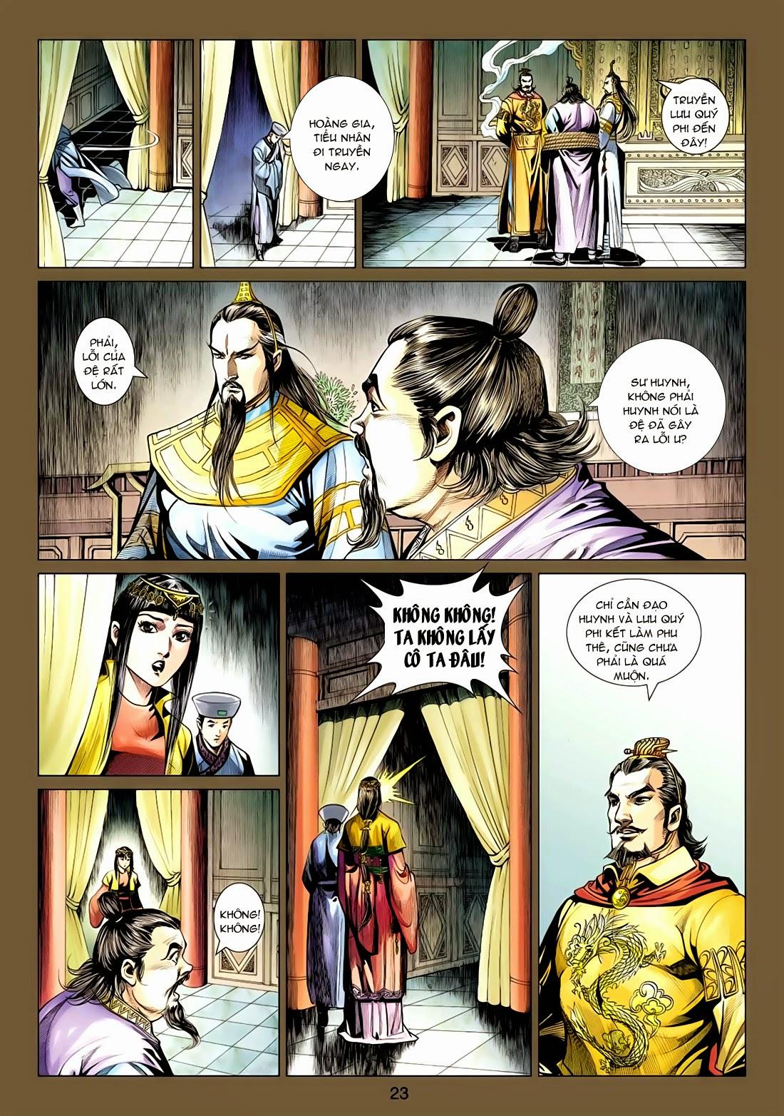 Anh Hùng Xạ Điêu anh hùng xạ đêu chap 77: thế thượng tối cường võ công trang 23
