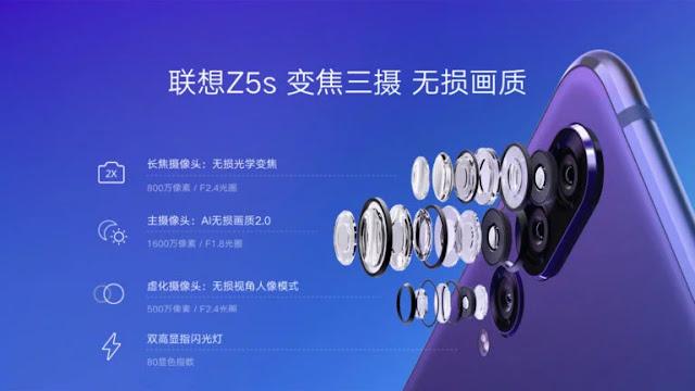 , Lenovo Z5s Resmi dengan Harga Terjangkau Tiga Kamera dan RAM 6GB, KingdomTaurusNews.com - Berita Teknologi & Gadget Terupdate