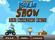 Regular Show Amazing Race