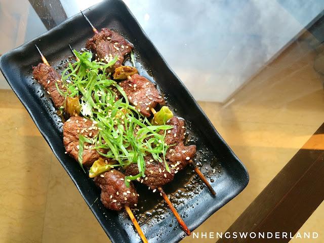 Spice Cafe - Beef Yakinuku