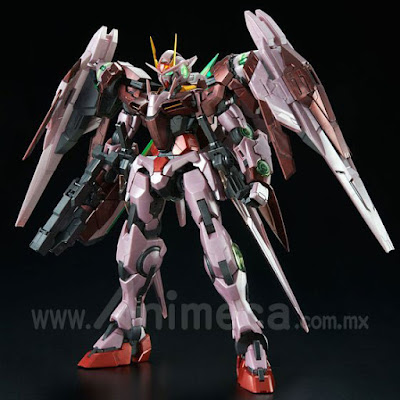 TRANS-AM RAISER GN-0000+GNR-010 Perfect Grade (PG) 1/60 Model Kit Gundam 00