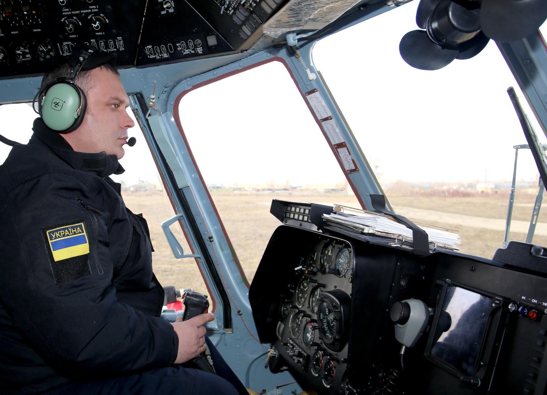 Одеська авіаескадрилья ДПСУ отримала вертоліт Мі-8 МСБ-В