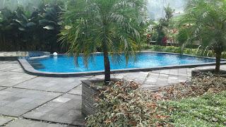 villa luas besar kolam renang bogor sukabumi 2018