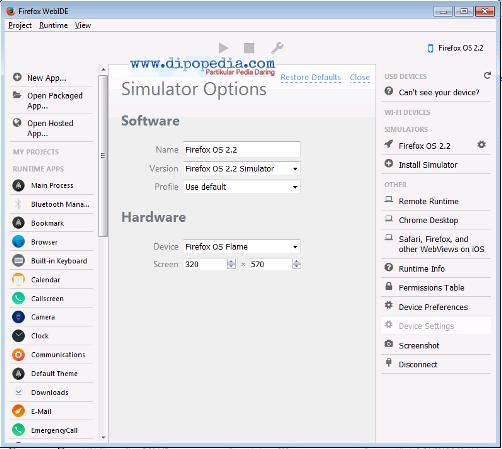 Ilustrasi Tips Mengoperasikan Firefox OS - Dipopedia
