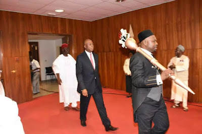 Here's Saraki's Reaction To Senate Invasion, Theft Of Mace