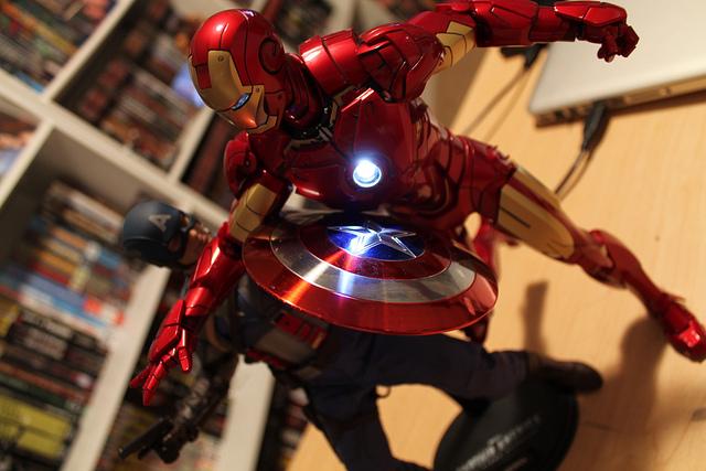 wallpaper iron man civil war